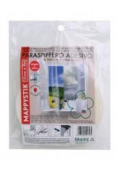 Αφρώδες Αυτοκόλλητο Αεροστόπ Λευκό 15 mm X 8 m - Μappy MAPPYSTIK