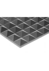 Ηχοαπορροφητικό Αφρώδες Σχήμα Πυραμίδας Γκρι 100x100x5 cm - DB Mappysil Piramidale