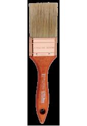 Πινέλα Διπλά με Λευκή Τρίχα (Σειρά 344) - Amiko Flat Brushes