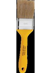Πινέλα Ημίδιπλα με Λευκή Τρίχα (Σειρά 332) - Amiko Flat Brushes