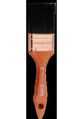 Πινέλα Διπλά με Μαύρη Τρίχα (Σειρά 346) - Amiko Flat Brushes
